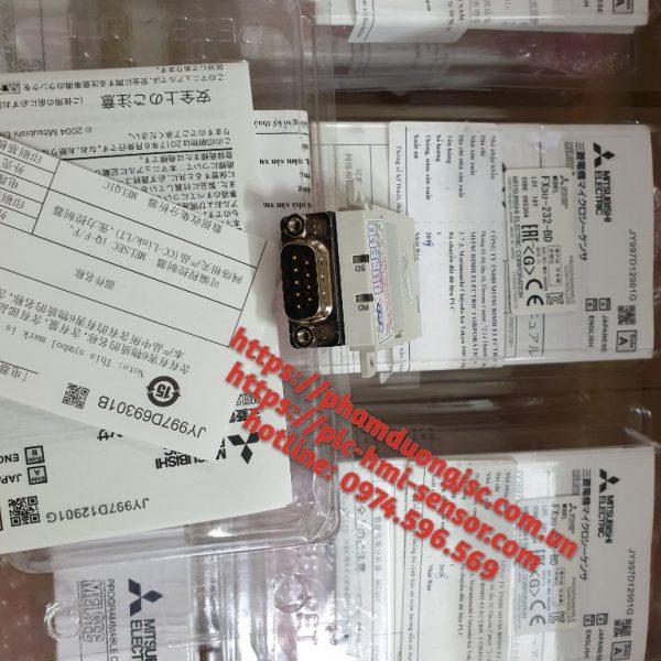 1 MÔ ĐUN FX3U-232-BD GIÁ 550.000 VNĐ