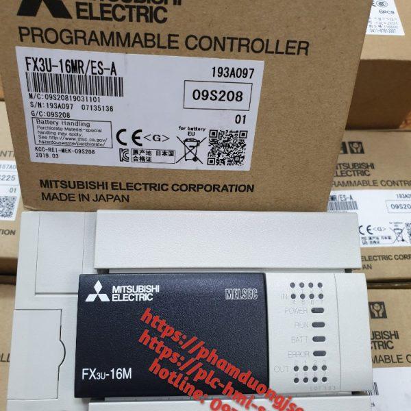 1 PLC FX3U-16MR/ES-A GIÁ 3.250.000